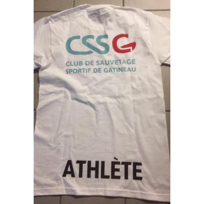 T-shirt du club - Tailles adulte